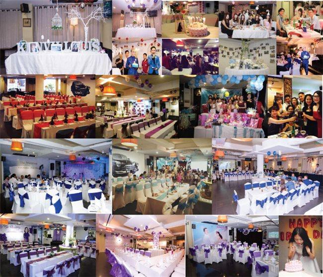 Những nhà hàng đặt tiệc sinh nhật ở Thành phố Hồ Chí Minh