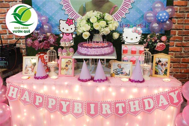 Nên đặt tiệc thôi nôi sinh nhật ở đâu tại TP HCM