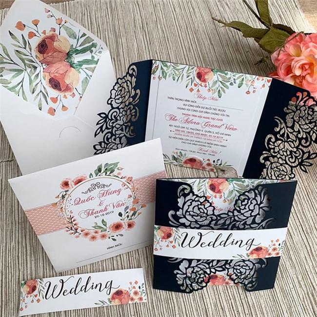 Một số ý tưởng thiệp cưới liên quan tới ngành nghề..