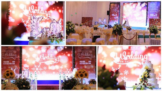 Ấn tượng đêm dạ tiệc thử món `Wedding For Us`  tại  Queen Plaza