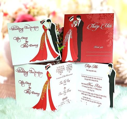 Thiệp cưới Nhất Chi Mai