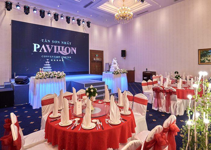 Trung tâm hội nghị - tiệc cưới Pavillon Tân Sơn Nhất