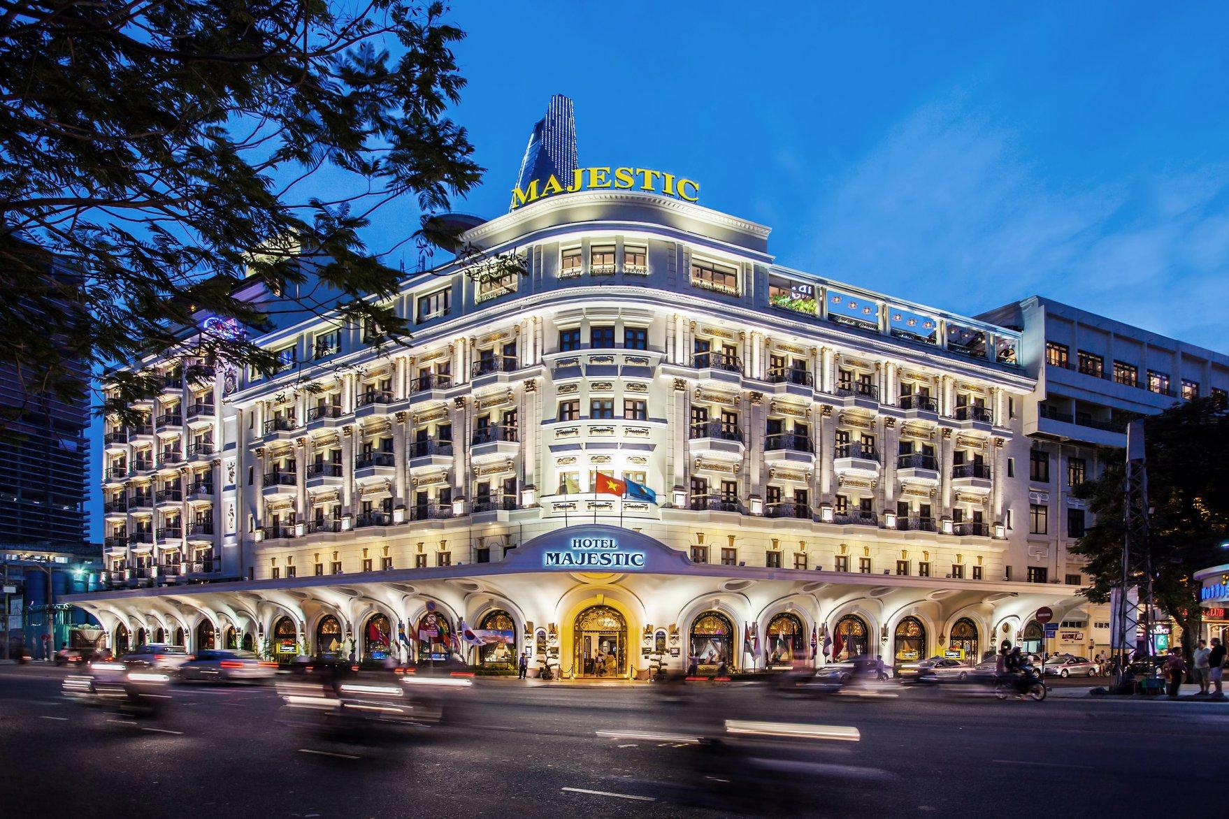 Hotel Majestic Saigon - Khách sạn Majestic Saigon