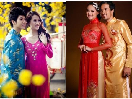 Áo dài cưới Hoa Lan Thủy