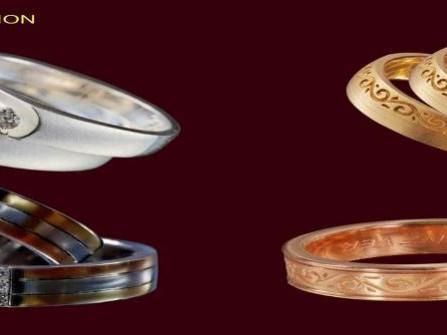 Nhẫn cưới Compa Jewelry