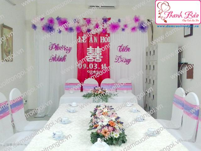 Đám cưới trọn gói THANH BẢO