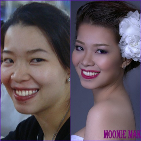Moonie Bridal Make Up