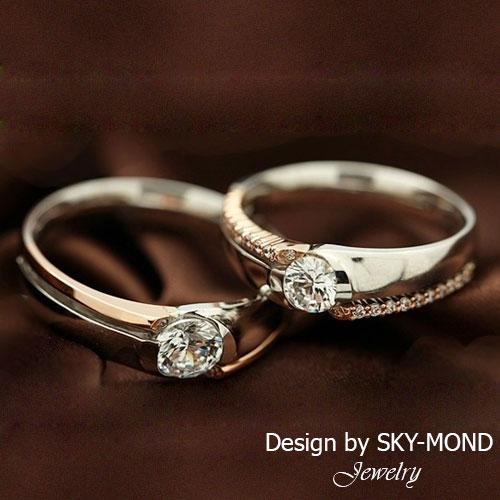 Nhẫn cưới Sky-Mond