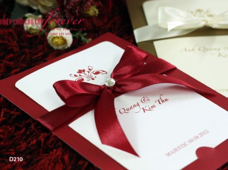 Thiệp cưới Forever