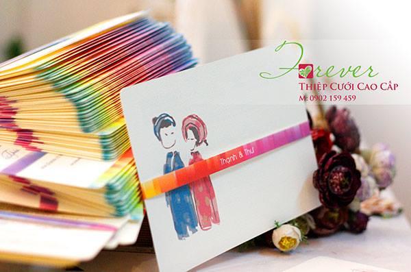 Các mẫu thiệp cưới đẹp của Thiệp cưới Forever