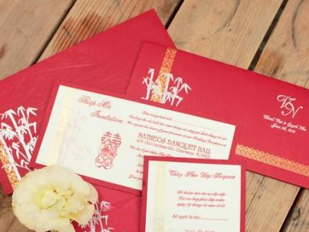 Thiệp cưới Phượng Liên