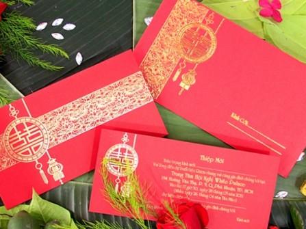 Thiệp cưới Quỳnh Diễm