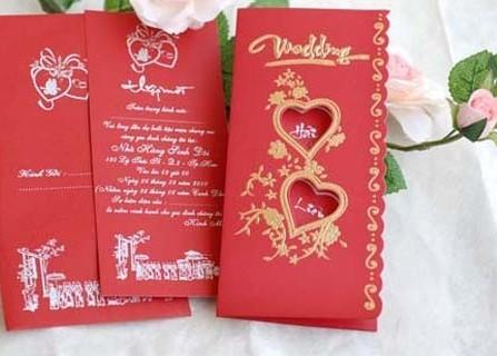Thiệp cưới Thu Trâm