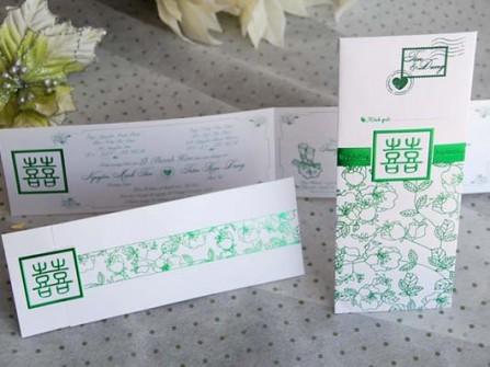 Thiệp cưới Xinh