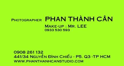 Wedding Studio Phan Thành Cân